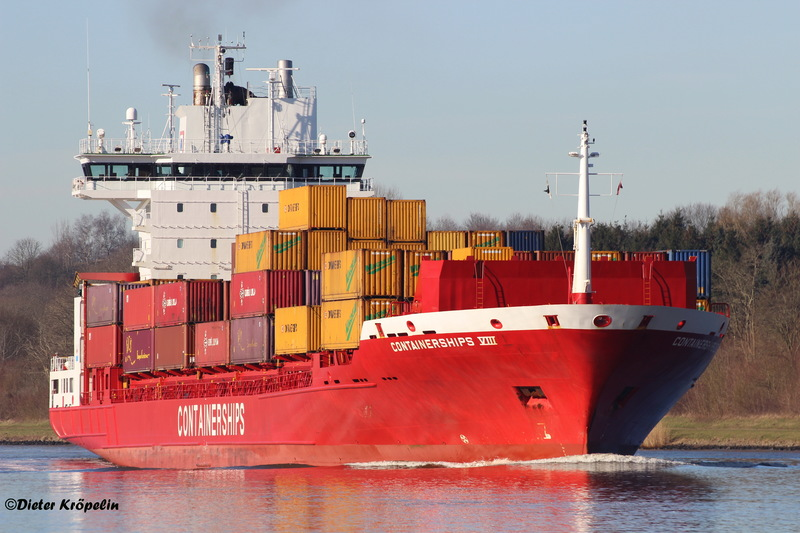 CONTAINERSHIPS VIII